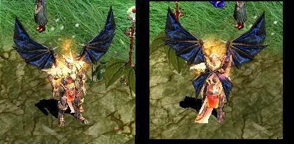 Alas Para Blade Knight AsasBk1-Azul