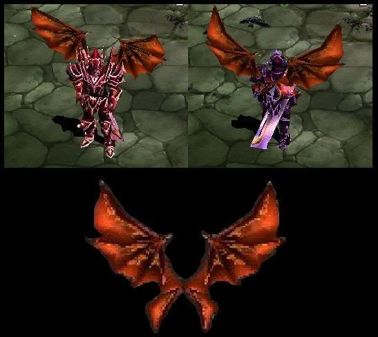 Alas Para Blade Knight AsasBk11-Fogo