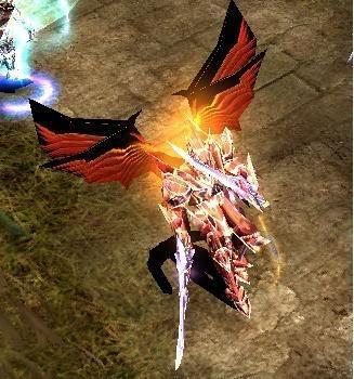 Alas Para Blade Knight AsasBk14-Passaro
