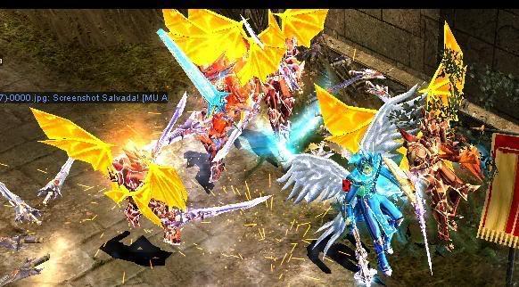 Alas Para Blade Knight AsasBk16-Dourada