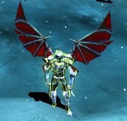 Alas Para Blade Knight AsasBk20-Red