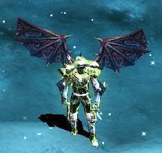 Alas Para Blade Knight AsasBk25-Roxa