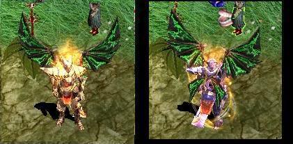 Alas Para Blade Knight AsasBk3-Verde