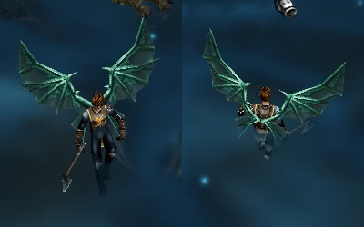 Alas Para Blade Knight AsasBk31-Verde