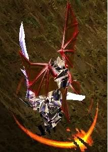 Alas Para Blade Knight AsasBk4-VermelhoSangue