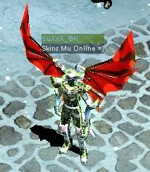 Alas Para Blade Knight AsasBk9-VermelhaBrilhante