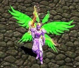 Alas Para Blade Knight, Soul Master e Muse Elf - Verde AsasElf34