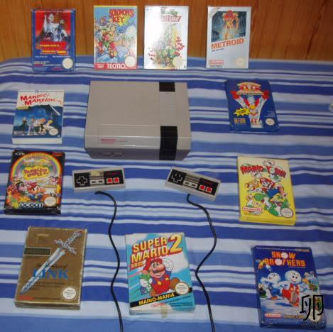 ¿Todavía conserváis el sistema que os inició en los videojuegos?  NES