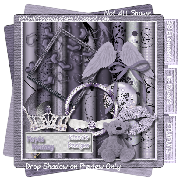 Scrapping Showdown # 4 sponsored by Wicked Princess Scraps Ends 11/30 RD_PurpleFantasyPreview