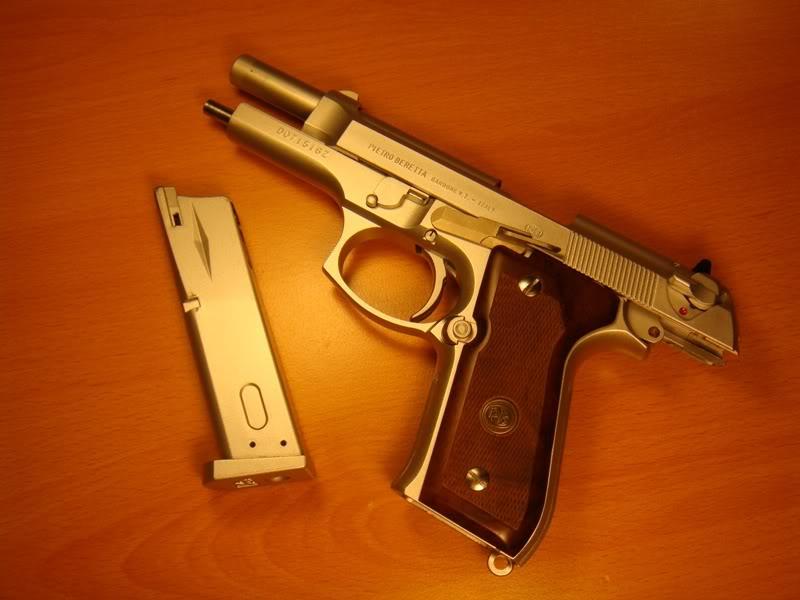 M9A1 vs M9. KJW vs WA. F8598073