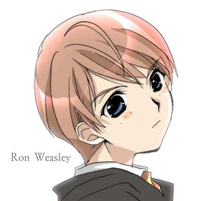 Ronald Bilius Weasley RonAnime