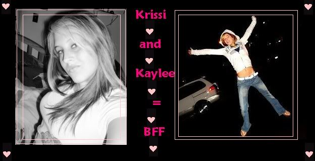 Krissi and Kaylee