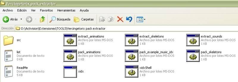Uso del Vercingetorix XIDX Pack Extractor (animaciones) Idx_2