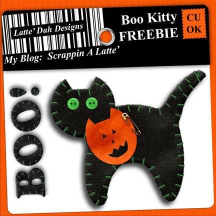 BOO Kitty FREEBIE BooKittyPrev