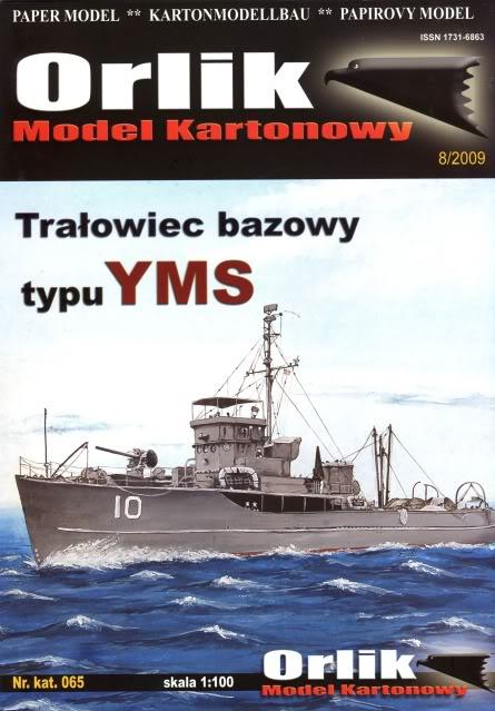"""calypso"" 1:100 umbau eines YMS Minenräumers Cover"