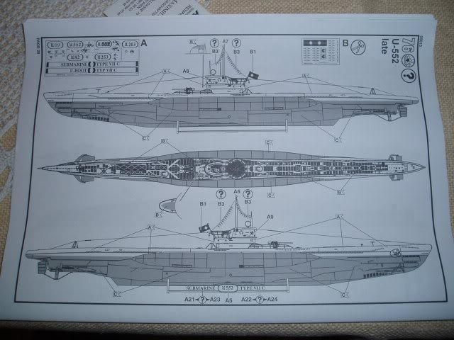 """RC  U-boot VII C """"U96"""" Das Boot  Revell umbau 1:72 *tauchteuferl* Rc-revelldas-bootu96004"""