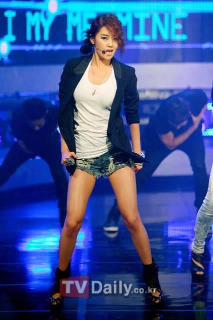 """[PERF][01.07.10] 4minute lần đầu tiên đưa """"I My Me Mine"""" lên sân khấu tại Mnet M! Countdown  01_70117"""