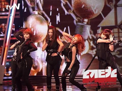 [PERF][07.06.10] 4minute trong show ca nhạc Newton – tvN CS012151729_35900_29367
