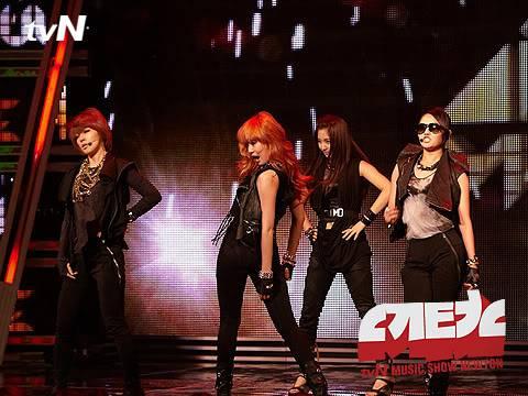 [PERF][07.06.10] 4minute trong show ca nhạc Newton – tvN CS012151734_35900_29367