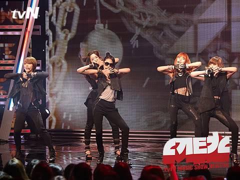 [PERF][07.06.10] 4minute trong show ca nhạc Newton – tvN CS012151744_35900_29367