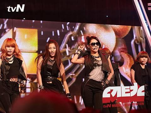[PERF][07.06.10] 4minute trong show ca nhạc Newton – tvN EX012151766_35900_29367