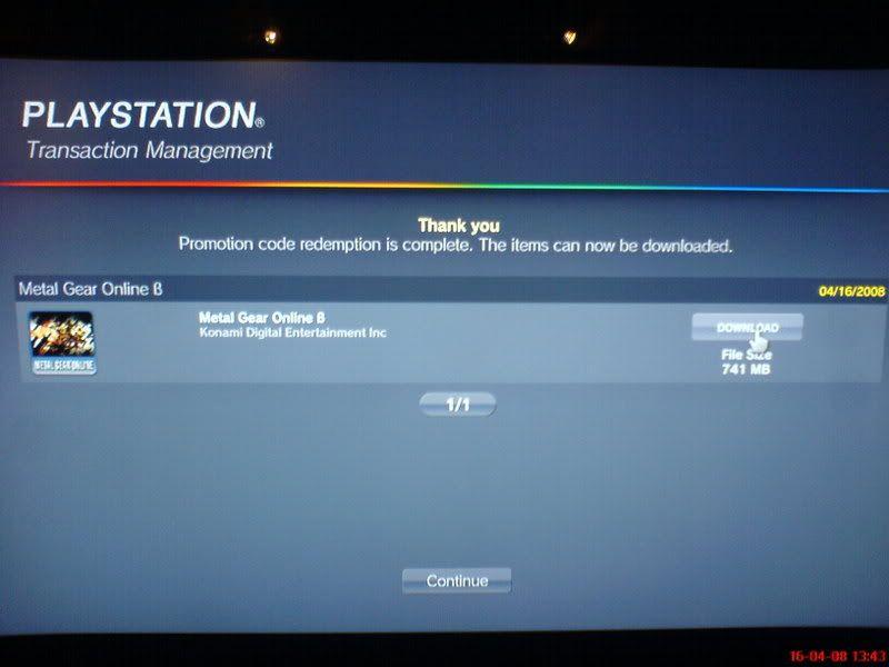 [Oficial] Ya tengo la Beta de Metal Gear Online!!! DSC00700