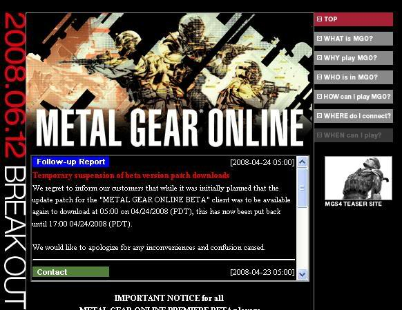 [Oficial] Ya tengo la Beta de Metal Gear Online!!! - Página 3 Usa