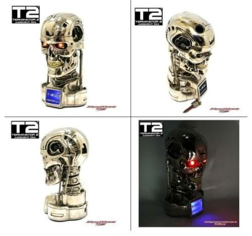 TERMINATOR 2 JUDGEMENT DAY: T 800 BUST 1/2 SCALE T-800EndoskullNew1