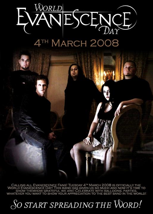 Evanescence EvanescenceWorldDayposter1