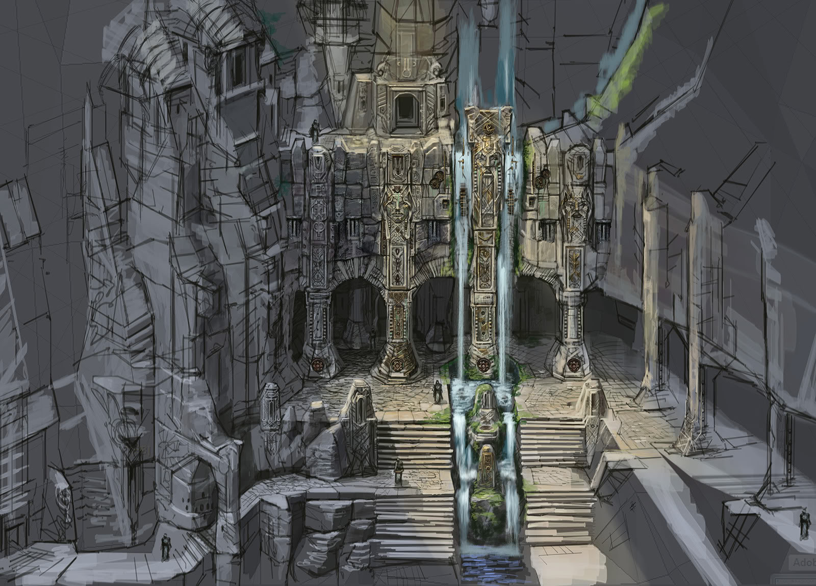 The elder Scroll Skyrim [Hilo oficial] MarkarthCastleExterior
