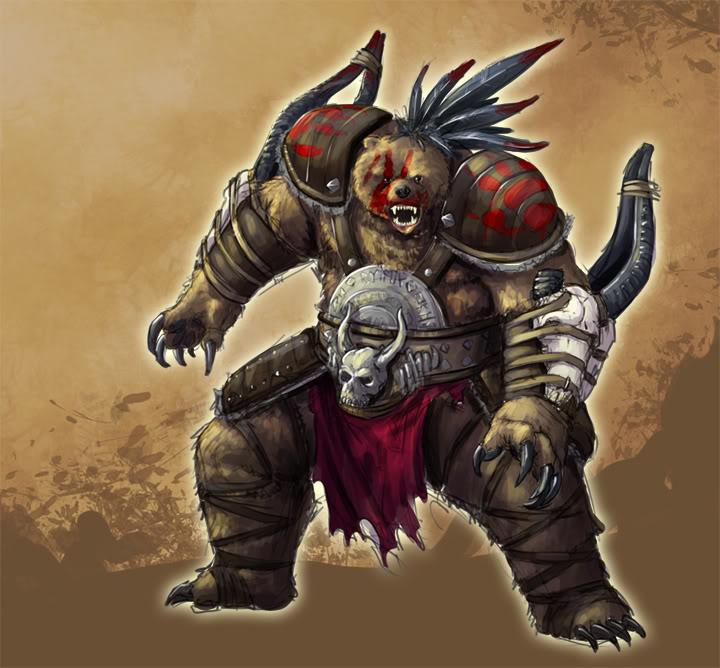 Raide Nargeit, The Prince Of Darkness Werebear
