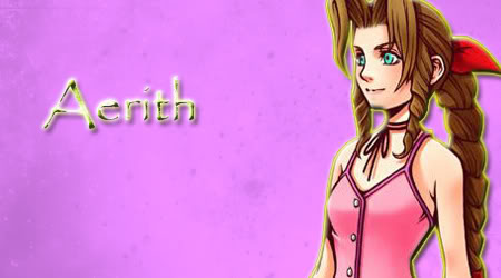 All the sigs I've ever done! Aerith
