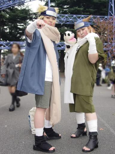 Một số tấm hình cosplay naruto Choujicos