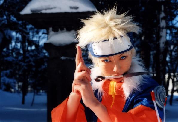 Một số tấm hình cosplay naruto Narutocos