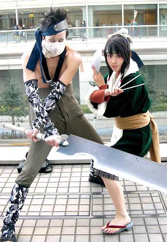 Một số tấm hình cosplay naruto Zabuzahakucos