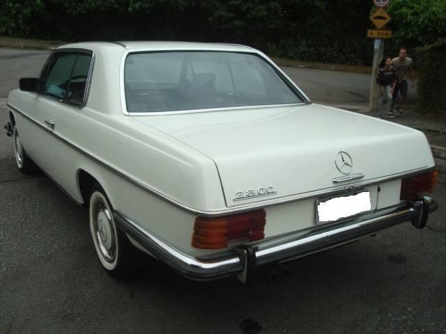 """Raro exemplar!!! Vendo minha W114 Barra """"8"""" 280 CE 1973 injetada / mecânica... R$ 40.000,00 - VENDIDO MERCEDES280C1973522_zpsbf3d40ed"""
