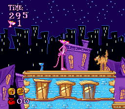 Pink Panther in Pink Goes to Hollywood (SNES) + Histórias da porta secreta PinkPantherGoestoHollywood_00002