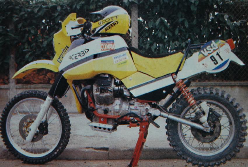 Moto Guzzi SP 650 1983 GuzziDakar85