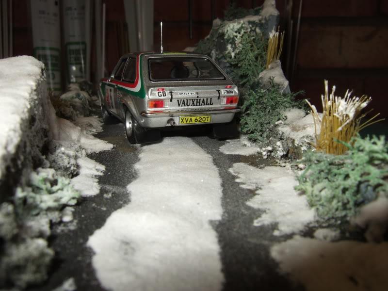 Pentti ---in the snow----Diorama SnowDiorama004