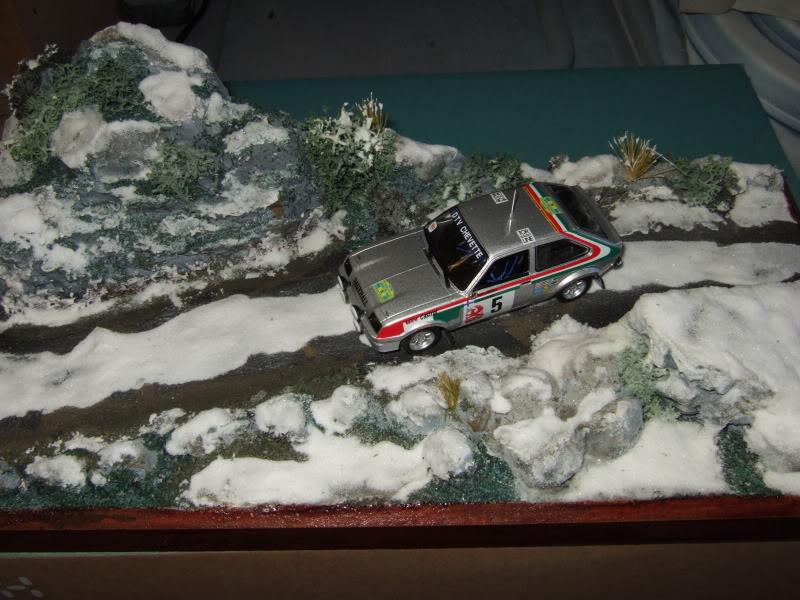 Pentti ---in the snow----Diorama SnowDiorama005