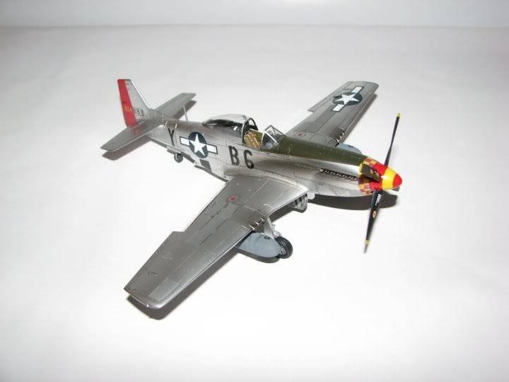 "P51D ""Glamorous Glen III"" Chuck Yeager 1/48 Tamiya P-51ChuckYeager01"