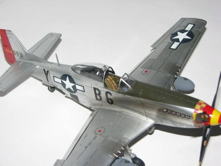 "P51D ""Glamorous Glen III"" Chuck Yeager 1/48 Tamiya P-51ChuckYeager02"