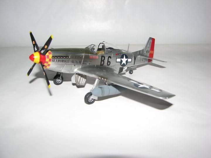 "P51D ""Glamorous Glen III"" Chuck Yeager 1/48 Tamiya P-51ChuckYeager03"