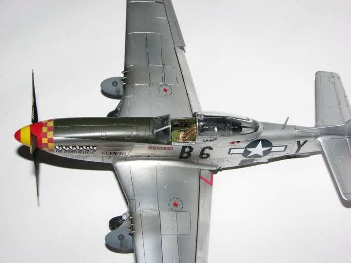 "P51D ""Glamorous Glen III"" Chuck Yeager 1/48 Tamiya P-51ChuckYeager05"