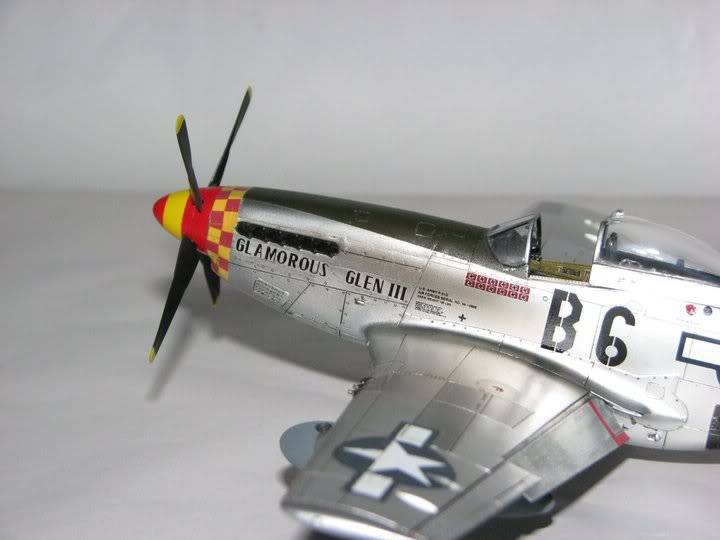 "P51D ""Glamorous Glen III"" Chuck Yeager 1/48 Tamiya P-51ChuckYeager06"