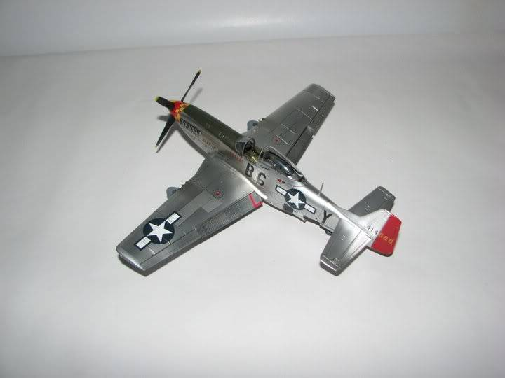 "P51D ""Glamorous Glen III"" Chuck Yeager 1/48 Tamiya P-51ChuckYeager07"