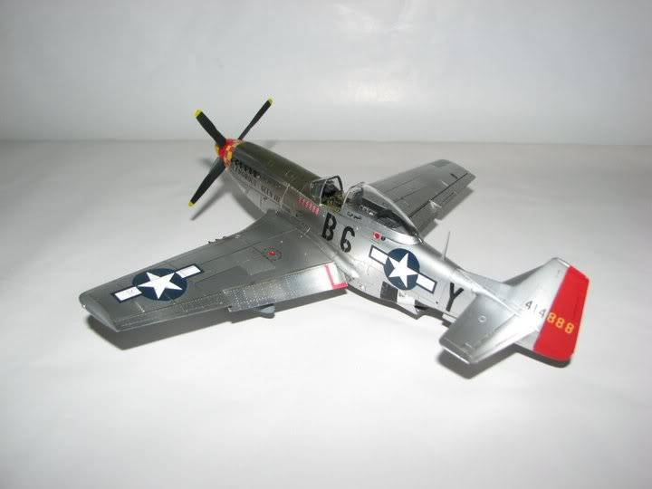 "P51D ""Glamorous Glen III"" Chuck Yeager 1/48 Tamiya P-51ChuckYeager08"