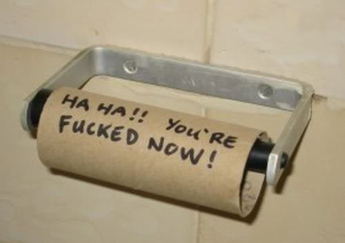 Pics for lulz. - Page 4 Toiletroll