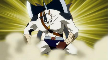 Sistema Magia dos Espiritos Celetiais Taurus_Anime