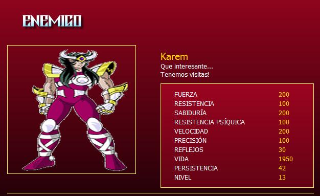 Karem, nivel 13 Karem